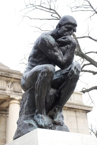 """The Thinker"" by Adam Fagen"